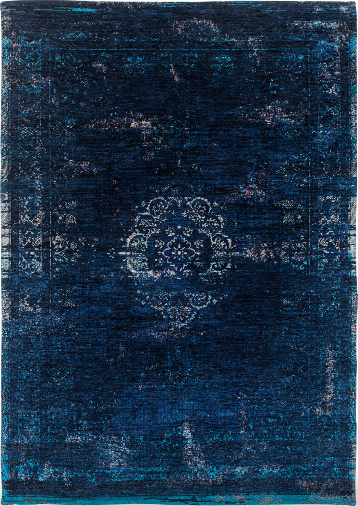 Dywan naturalny Orient granatowy - Blue Night 8254