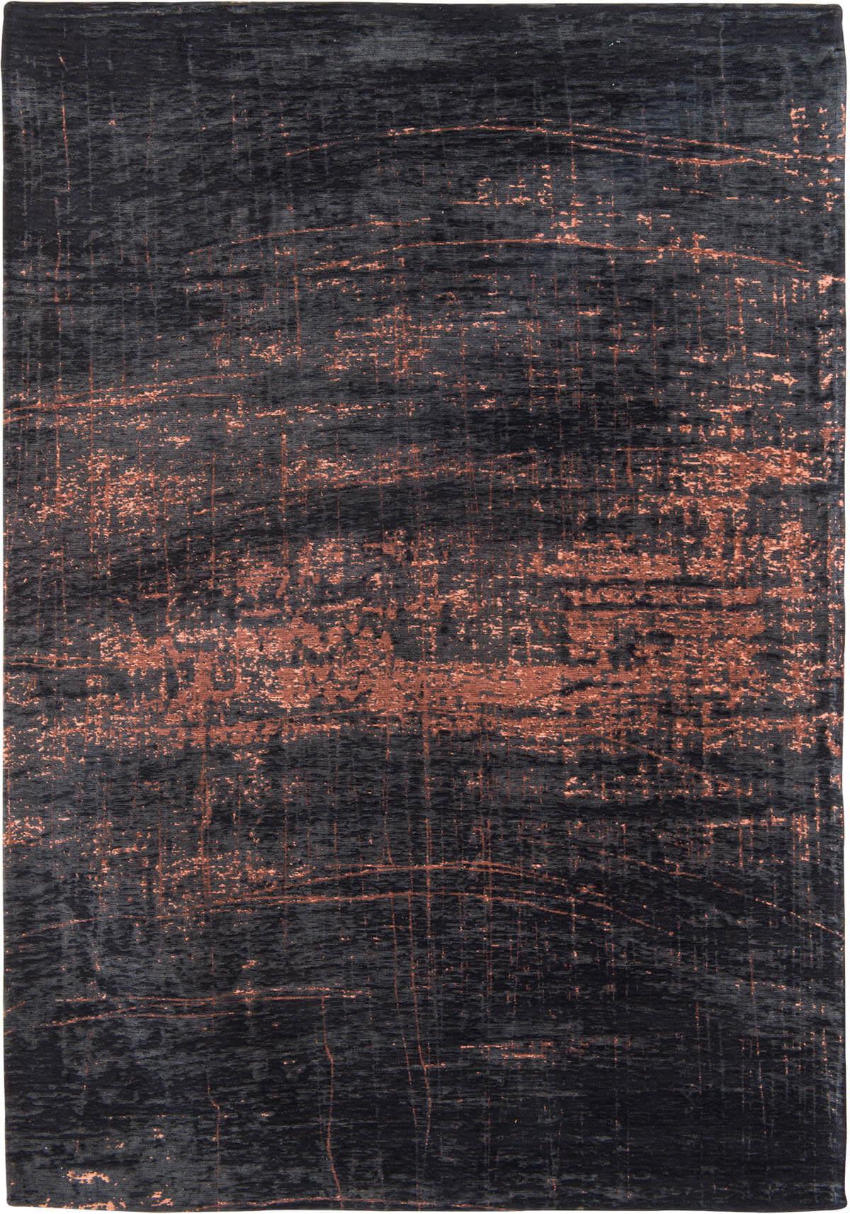 Dywan nowoczesny brazowo czarny - Soho Copper 8925
